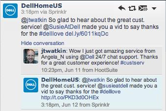 i can feel the delllove customer service life