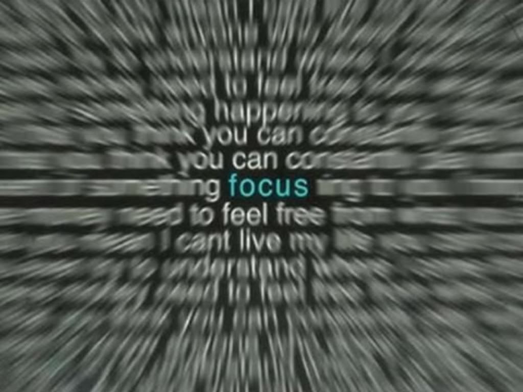 Giving Yourself Permission To Focus