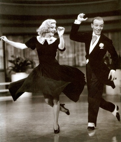Ginger Rogers And Astaire on Swing Dance 1920s