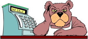 cartoon-bear-cashier