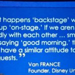 What Happens Backstage Will Not Remain Backstage in Customer Service