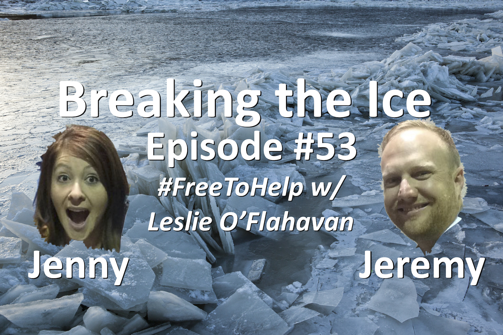 Breaking the Ice Episode #53: #FreeToHelp w/ Leslie O'Flahavan - Customer Service Life
