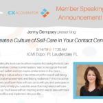 Jenny Dempsey to Talk Workplace Wellness at ICMI CCExpo
